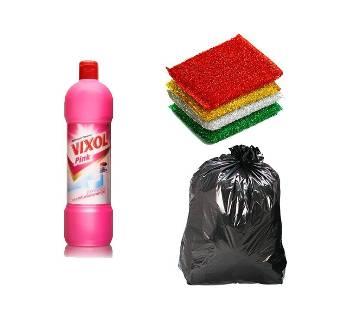 Vixol, Washing sponge, west poly bag combo