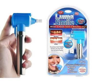 Luma smile tooth polish and whitening kit