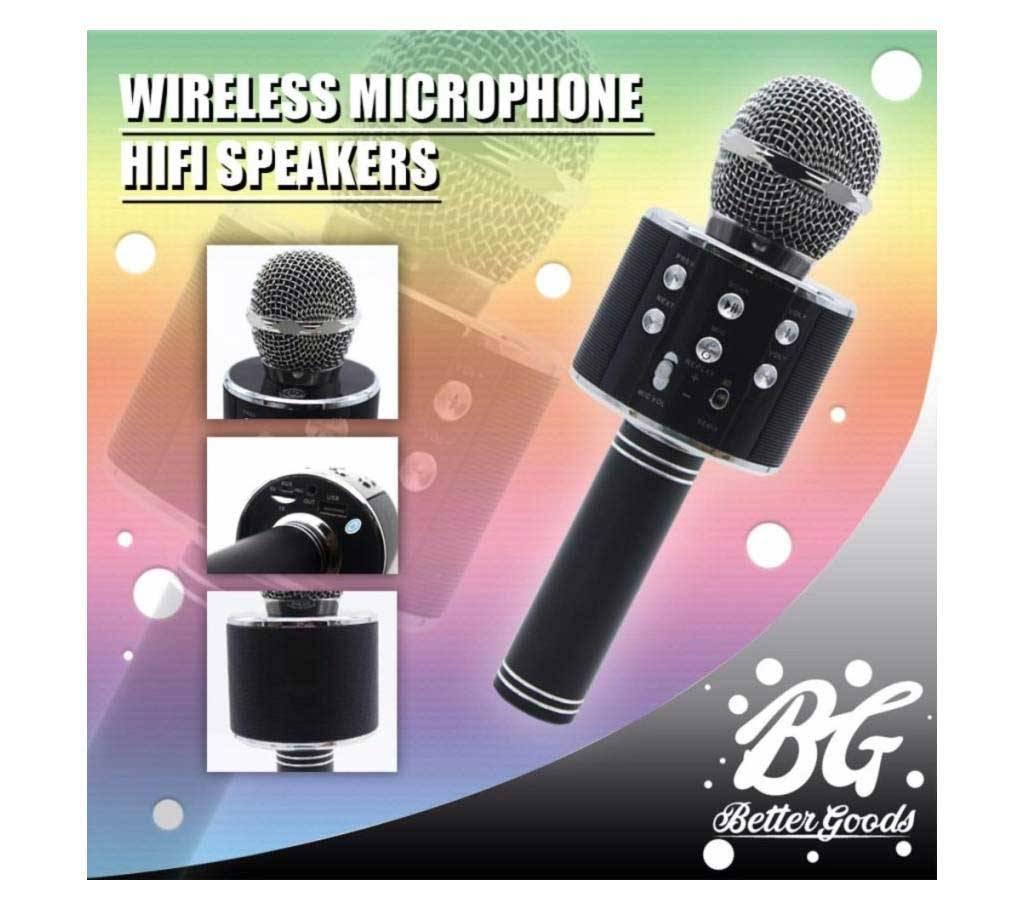 Microcell WS-858 Bluetooth Microphone বাংলাদেশ - 1082917