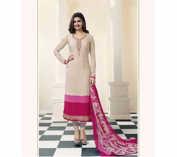 Vinay (Replica) Unstitched Cotton Embroidery Three-pcs