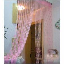 Heart Designed net Curtain
