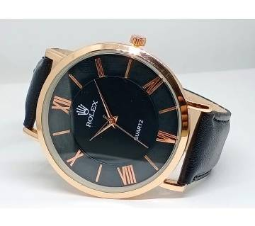 Mens Pu Leather Watch