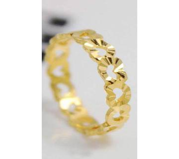 Gold Plated Zircon Finger Ring