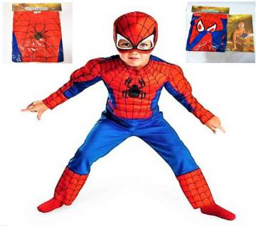 Spiderman Dress Set For Kids