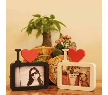 Love Shaped Photo Frame (1 pcs)