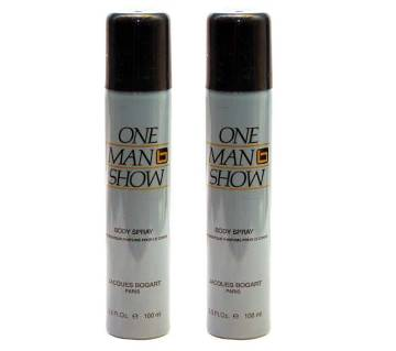 ONE MAN SHOW BODY SPRAY COMBO 100 ML