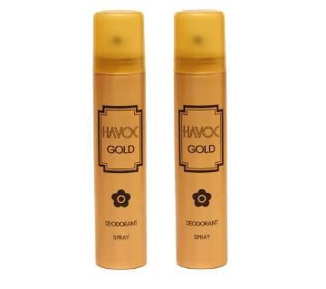 HAVOC GOLD BODY SPRAY COMBO 100 ML