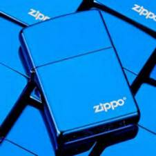 Zippo Lighter Blue (copy)