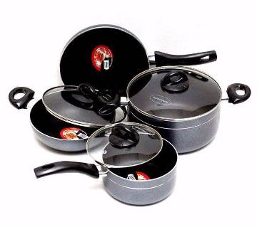 7 pcs Non Stick Cookware set