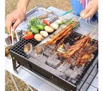 Portable BBQ Grill Set