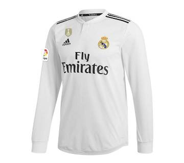 Real Madrid Home Full Sleeve Jersey