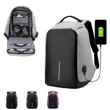 Bobby Anti Theft Backpack- with USB port