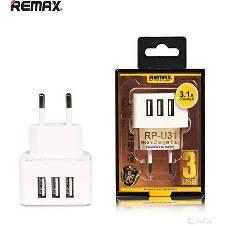 REMAX RP-U31 Moon Charger  Plug 3-USB