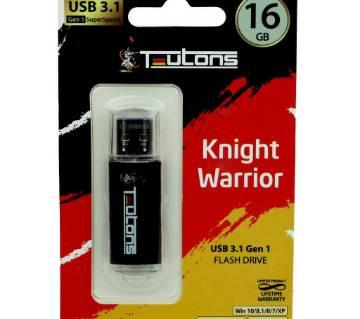 Teutons Knight Warrior USB 3.1 Gen1 ফ্ল্যাশ ড্রাইভ