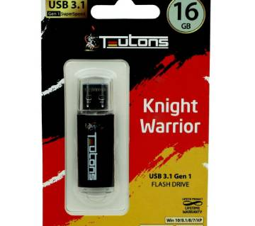 Teutons Knight Warrior USB 3.1 Gen1 Flash Drive