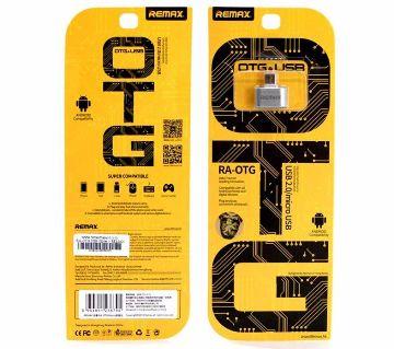 Remax Micro USB OTG Plug