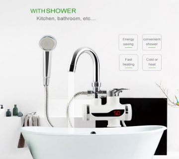 Instant water Heater Tap with Hand shower