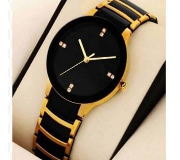 Gents Black Wrist watch