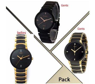3pcs Rado Wrist Combo