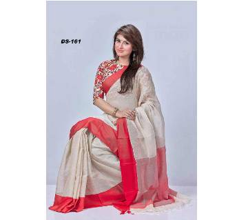 Muslin cotton saree