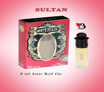 Al-Nuaim Sultan রোল-অন ফ্লোরাল হালাল পারফিউম 8 ml