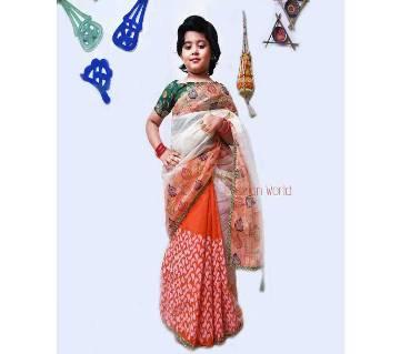 Boishakhi saree for baby girl