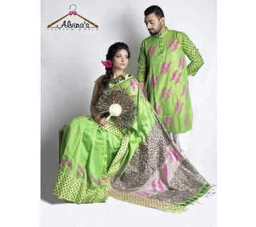 Saree-Panjabi Combo Offer