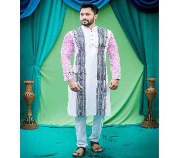Boishaki Dhupian Silk Panjabi