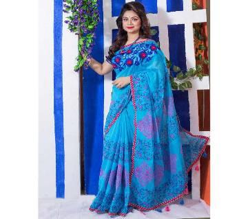 Half Silk Saree