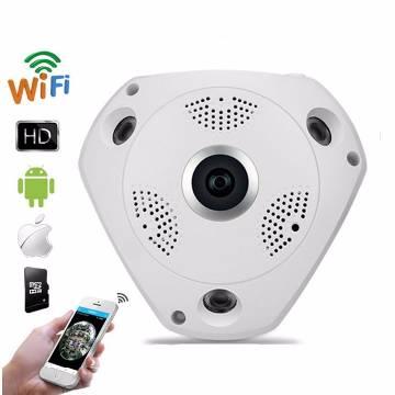 PANORAMIC 3D VR CCTV camera