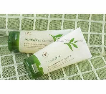 Innisfree green Tea Pure body gel Scrub