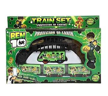 Ben 10 Train Set Toy Kids Shop