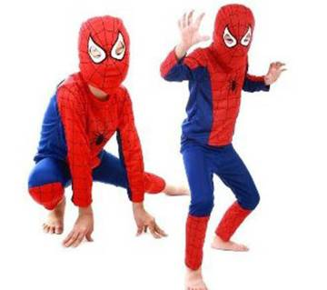 Spiderman Costume For Kids - Red and Blue