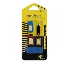 4 IN 1 NOOSY Micro Nano SIM Card Cutting