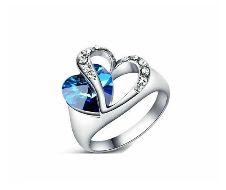 Heart Shaped Titanic Finger Ring