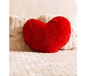 Love Shape Pillow - Red