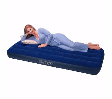 Single Air Bed With Air Pumper