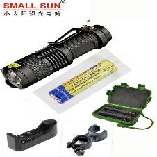 Rechargeable Zoomable Bicycle Flashlight
