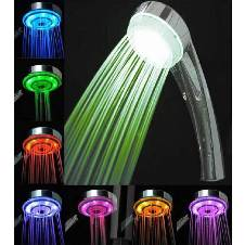 7 Color LED Shower
