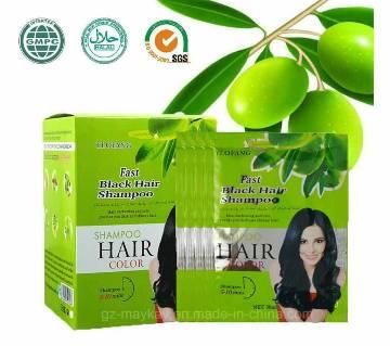 fast black hair shampoo