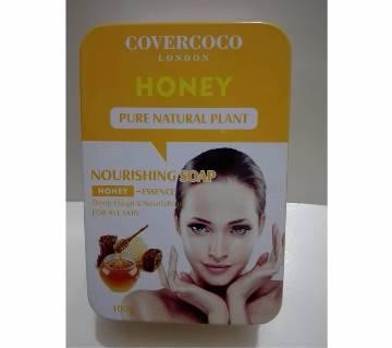 Honey পিওর ন্যাচারাল প্লান্ট ন্যারিশিং সোপ - 100gm