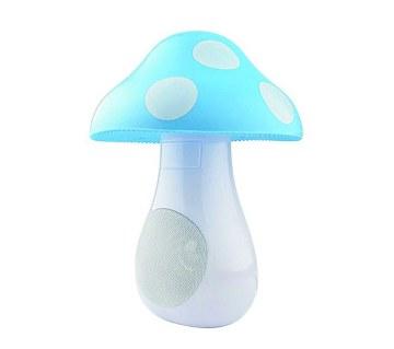 Mashroom LED night light cum speaker
