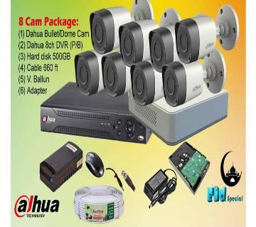 Dahua 8 Camra Packege