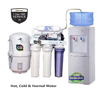 5-Satge CG Water Purifier RO Dispenser-Hot, Cold &