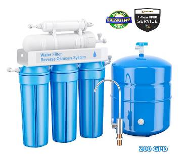 5-Stage CG Pure Water RO 200 GPD for Commercial Us