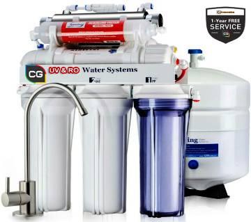 6-Satge CG Pure Water RO and UV 75 GPD