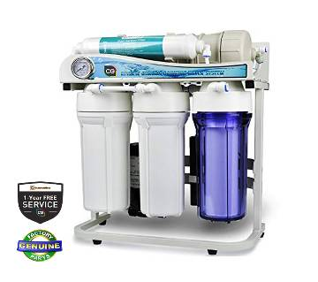 6-Stage CG Pure Water RO 75 GPD with Frame Stand