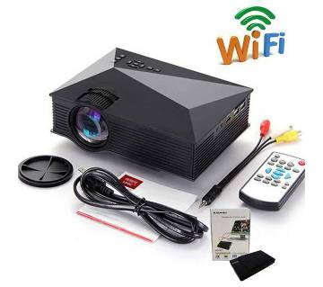 H40 Wifi Projector Pro With free TV Card