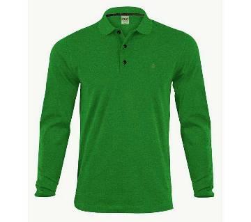 Full sleeve polo shirt for men
