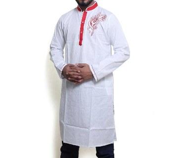 Boishakhi cotton semi long punjabi